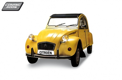 Citroen 2 Cv Jaune